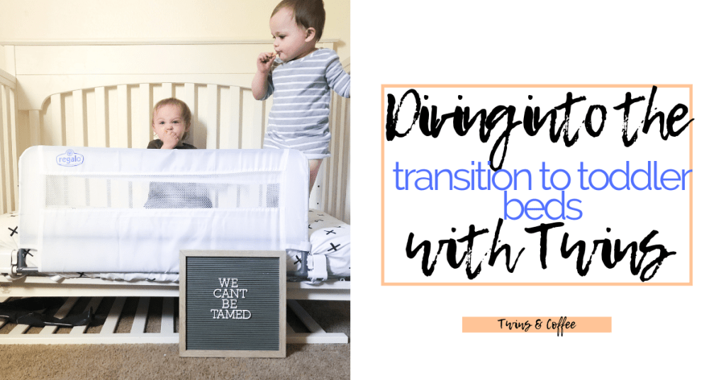 transition to toddler bed with twins