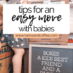 tips for moving with baby