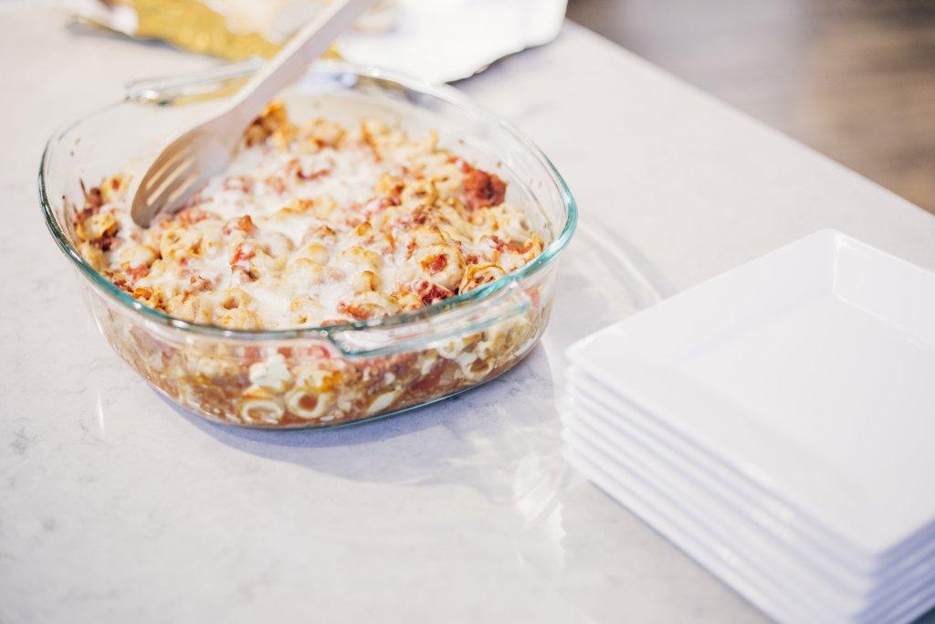 meatless monday tortellini bake