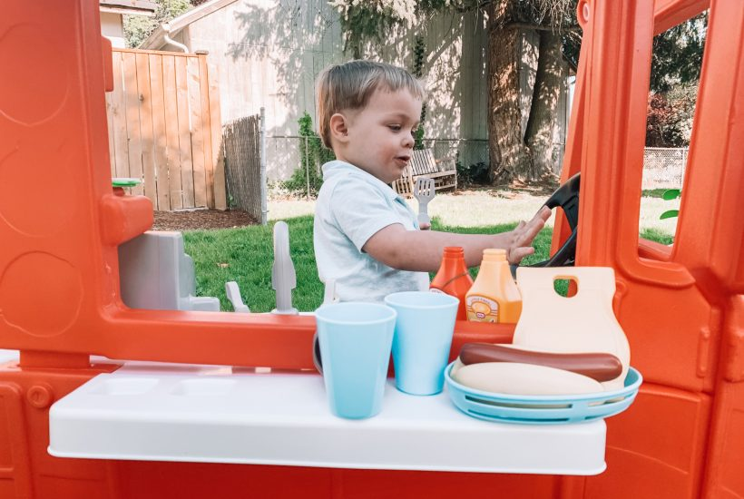 backyard play ideas for toddlers