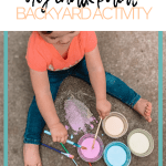 diy chalk paint for toddlers