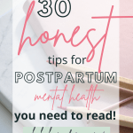 mental health tips and support for new moms struggling with postpartum mental health