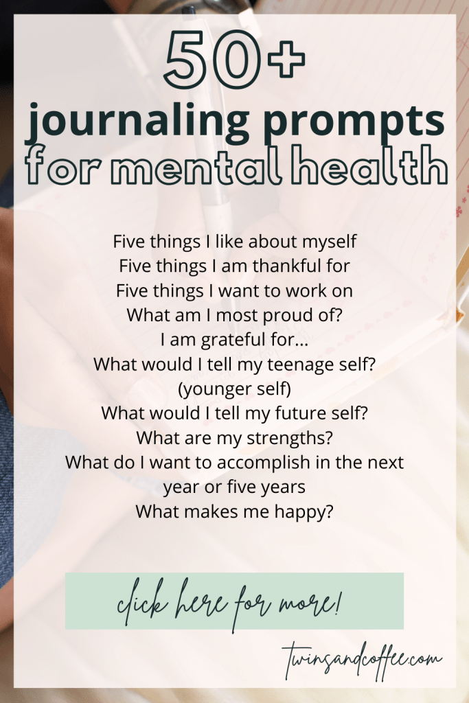 journaling benefits for mental health