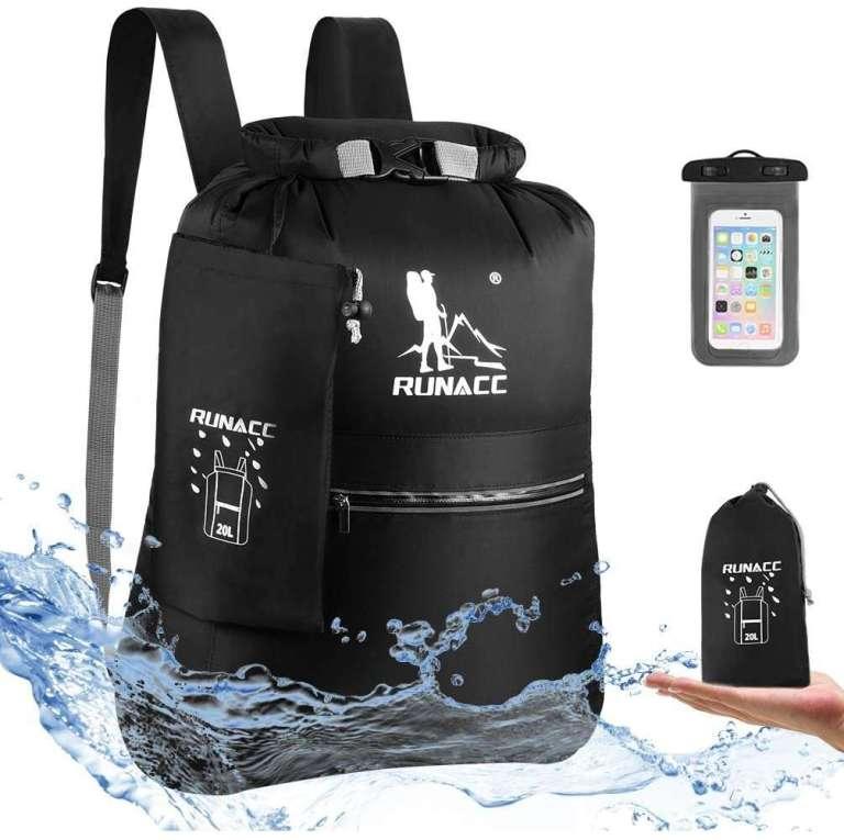 Comprar mochila en amazon impermeable para kayak, paddle surf barco neumatica