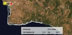 Mapa de Menorca con las mejores playas y calas del sur que nuestros clientes han visitado
