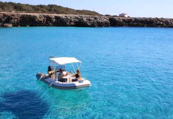neumatica de alquiler en ciutadella de Menorca