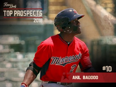 Twins Daily 2018 Top Prospects: #10 Akil Baddoo - Minor Leagues - Articles  - Articles - Twins Daily