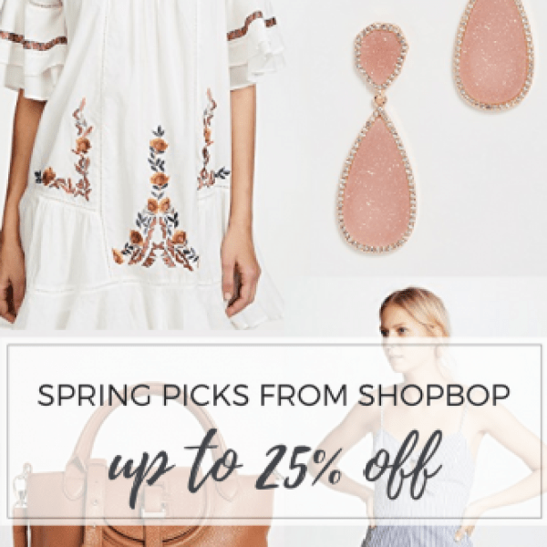 Spring Picks from Shopbop: Up to 25% off