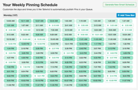 pin scheduler