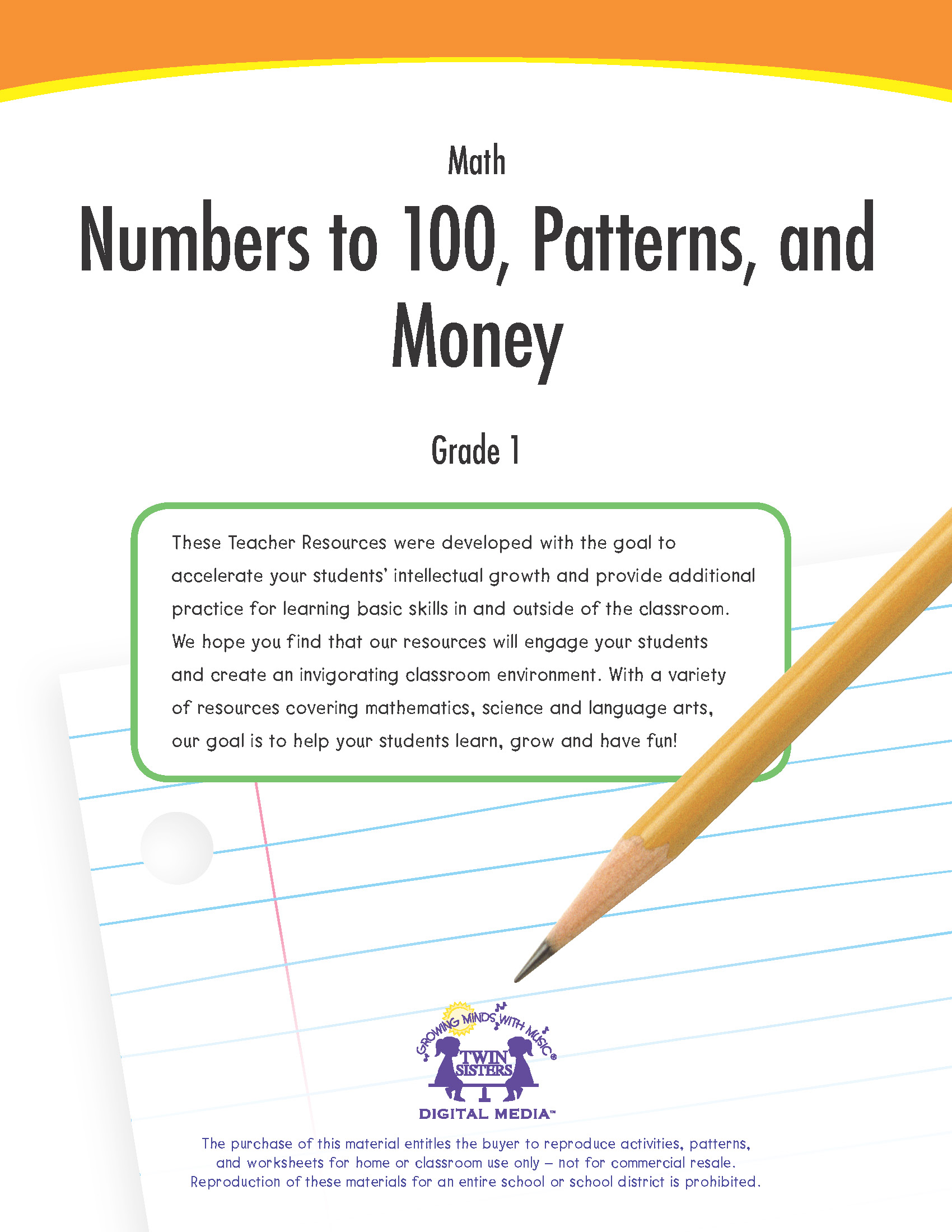 Math Grade 1 Numbers To 100 Patterns And Money
