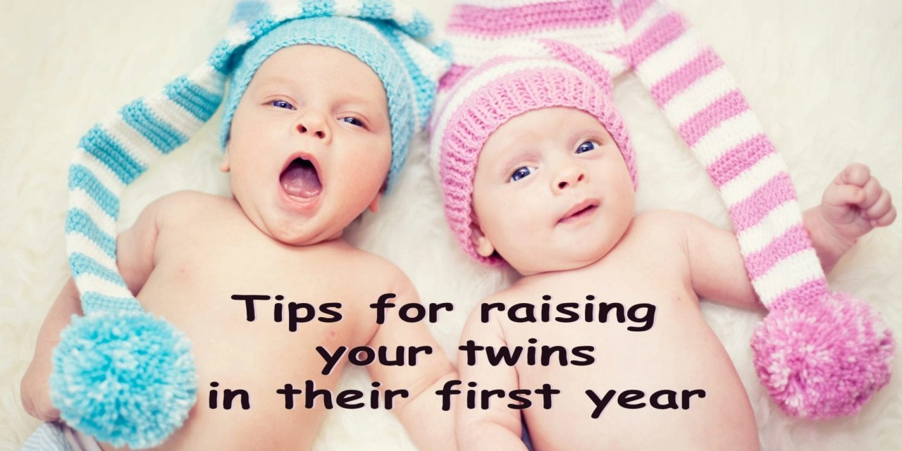 6 Useful Tips for Raising Twins in Their First Year