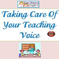 Free Document on How To Take Care of Your Voice-Teacher Edition