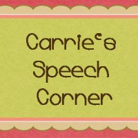 Blogiversary Guest Post #5 from Carrie's Speech Corner on Fun Fall Themes For Therapy!!!