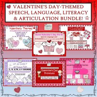 #jan17slpmusthave VALENTINE'S DAY BUNDLE: Speech, Language & Articulation