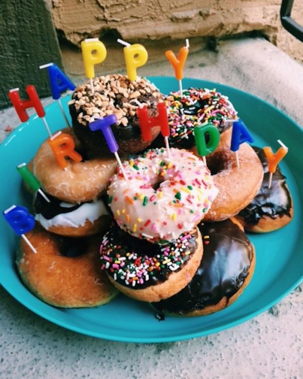 Donut Birthday Cake   Twinspiration