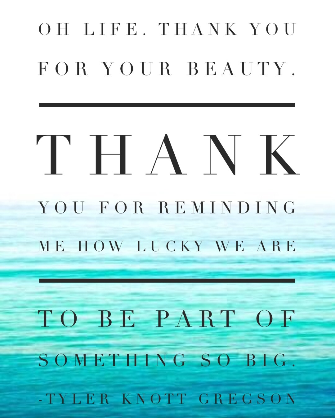 Friday Freebie by Twinspiration: http://twinspiration.co/friday-freebie-thank-you-life-printable/