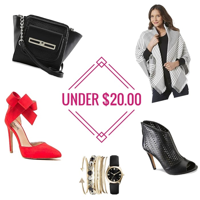SearsStyle: Gifts Under $20.00