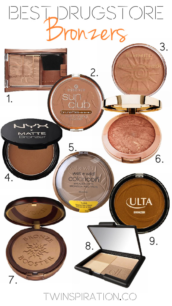 Best Drugstore Bronzers by Twinspiration