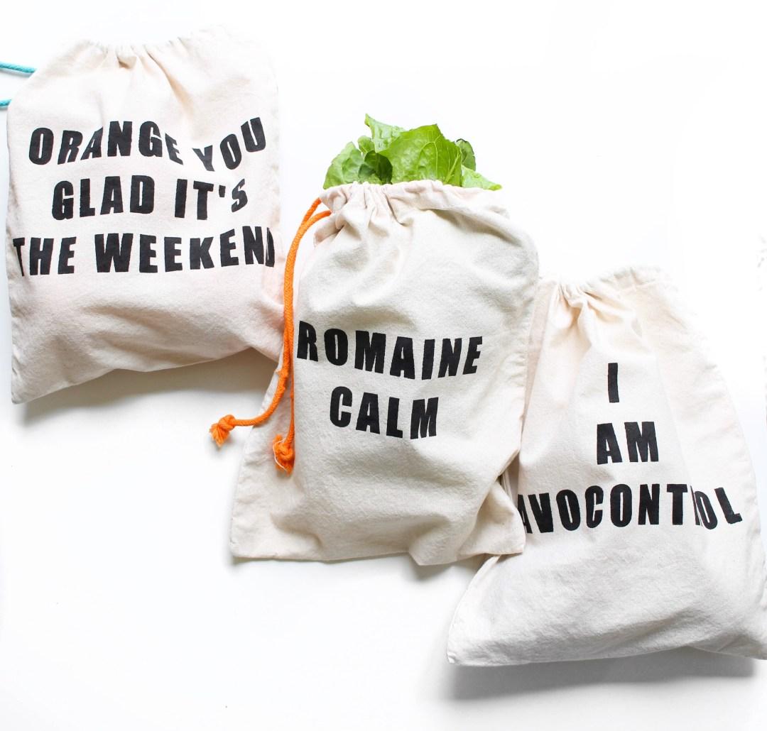 DIY Farmers Market Bags | Twinspiration