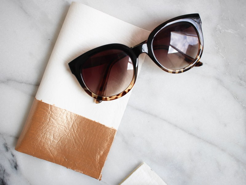 DIY No-Sew Sunglass Case | Twinspiration
