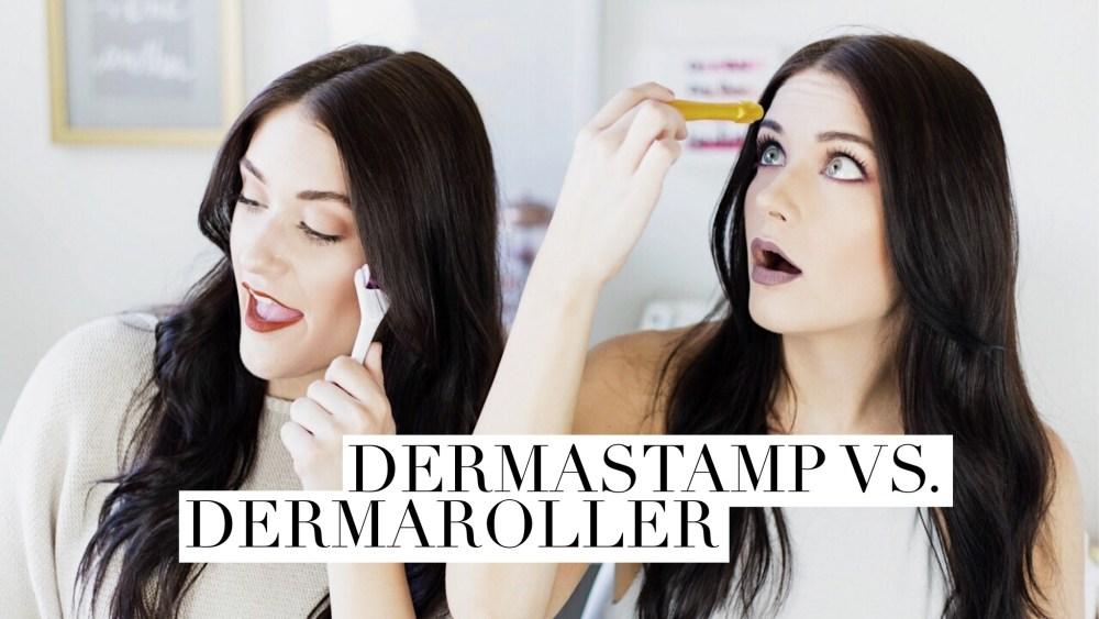 Dermastamp vs. Dermaroller | Twinspiration