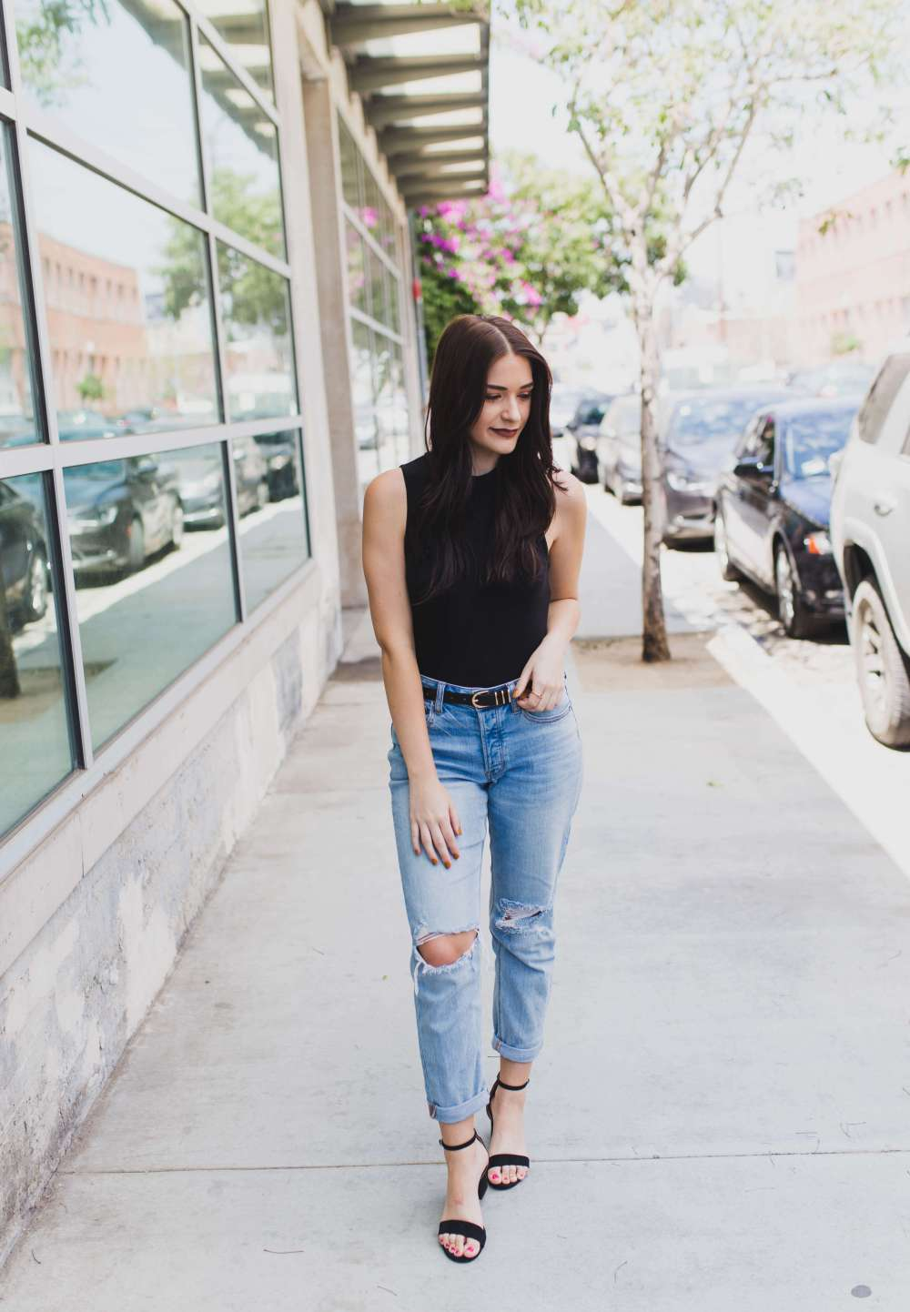 Staple Black Bodysuit | Twinspiration