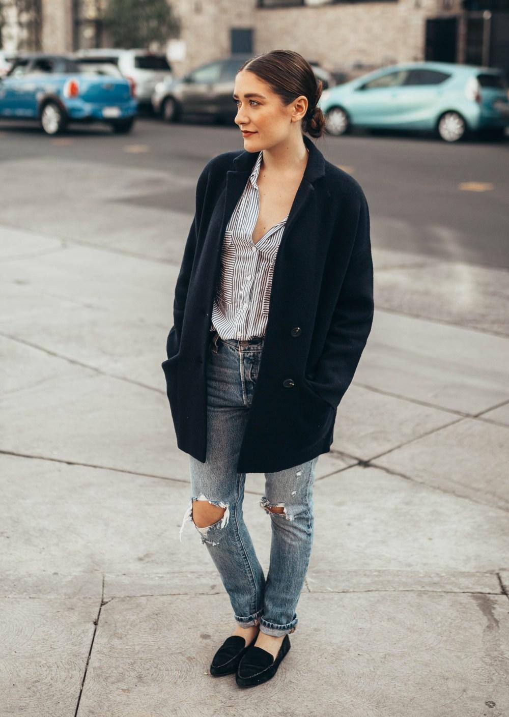 The Perfect Blazer Sweater Jacket | Twinspiration