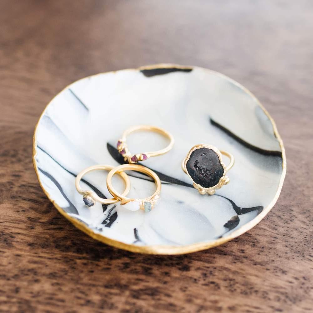 DIY Clay Ring Dish | Twinspiration
