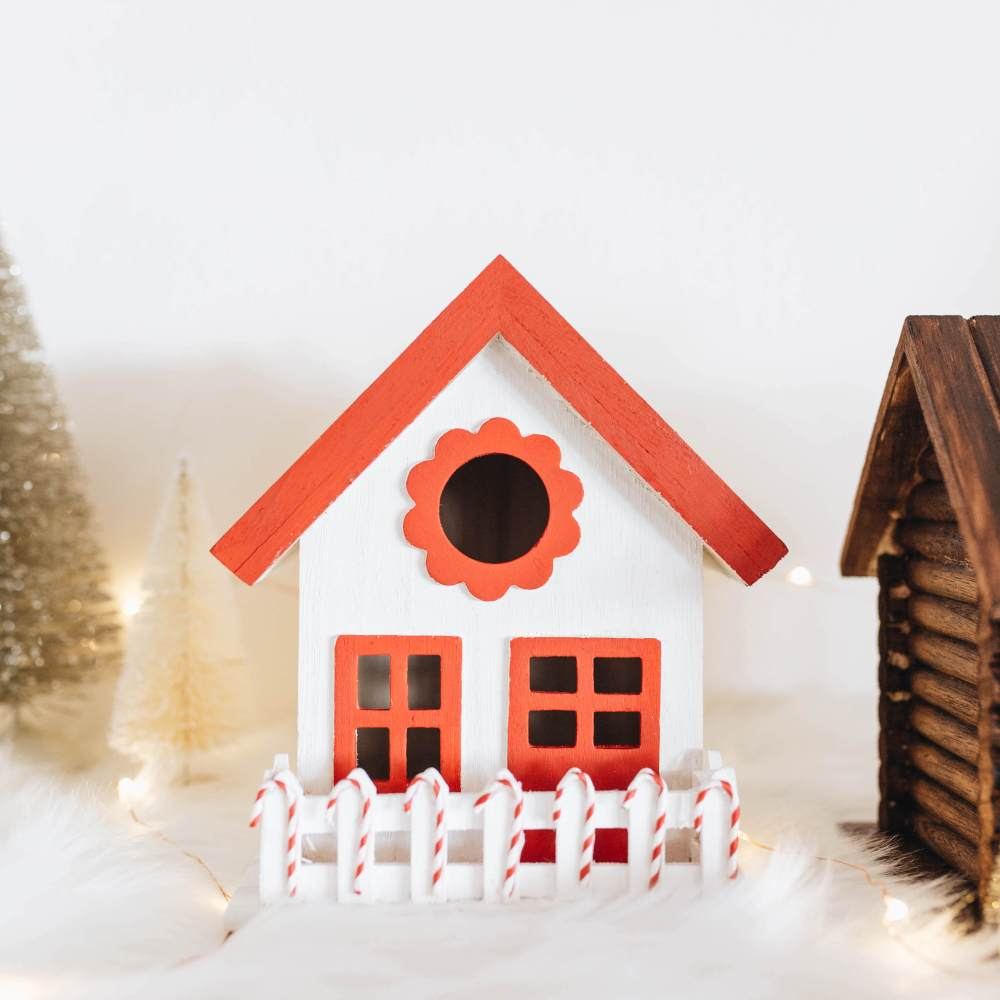 DIY Christmas Village | Twinspiration