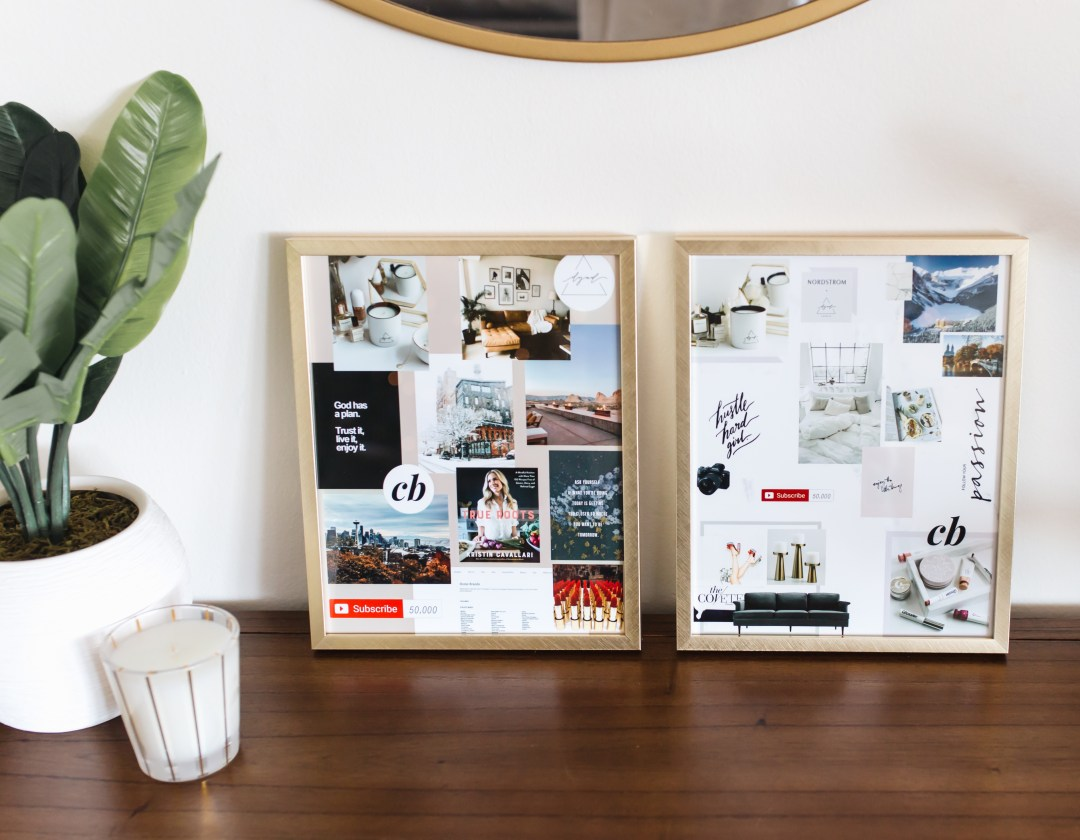 Easy DIY Vision Board | Twinspiration