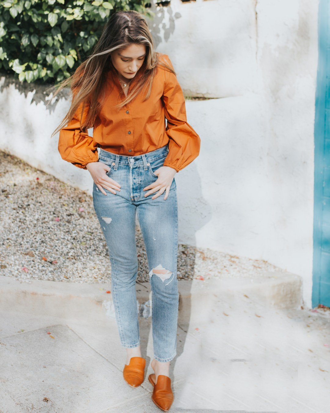 On Trend: Orange During The Spring | Twinspiration