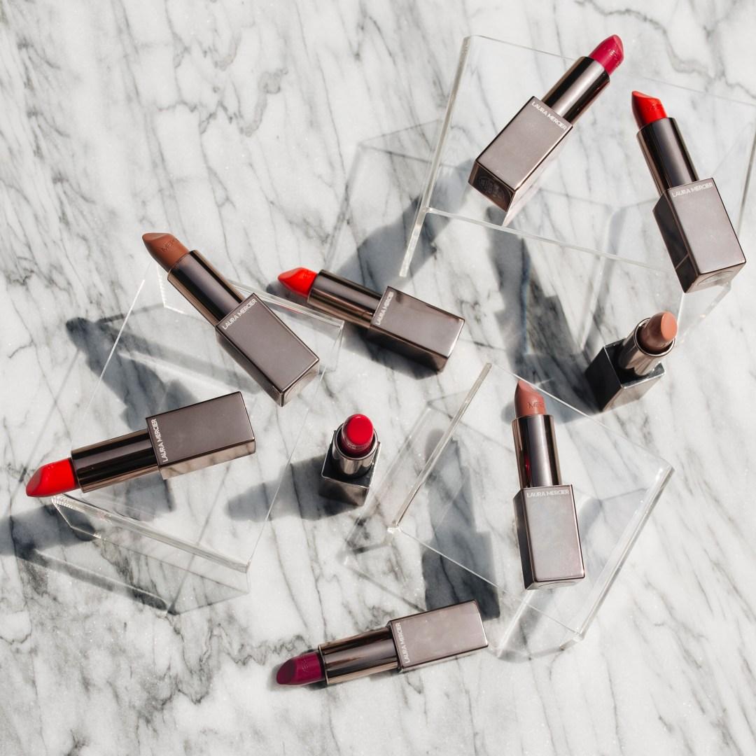Laura Mercier Rouge Essentiel Lipsticks Review + Swatches | Twinspiration