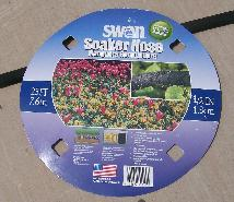 Swan soaker hose from Lowes