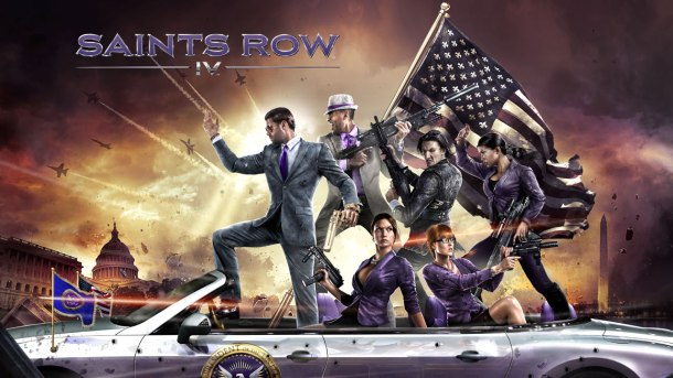 Starting out crazy with designs on spinning out of control, Saint's Row IV. Coming soon.