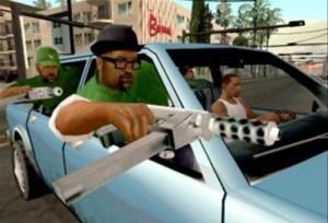 GTA SA driveby
