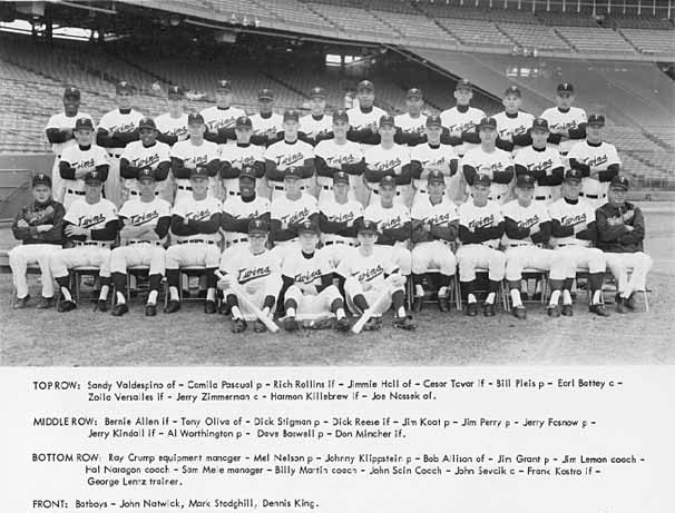 1965 Twins team picture