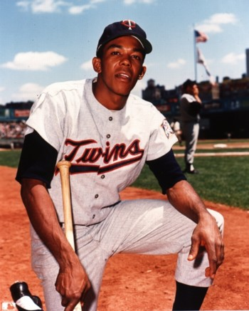 RF Tony Oliva played for the  Twins from 1962-1976
