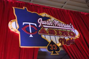 Justin Morneau casino night