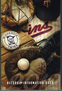 2012 Twins Media Guide