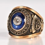 1965 American League championship ring Naragon front view
