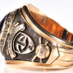 1965 American League championship ring Naragon side 2