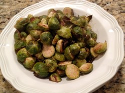Roasted Brussesl Sprouts