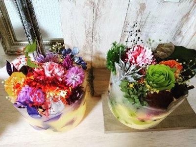 銀座スタジオエス オリジナル LED内蔵 花キャンドル