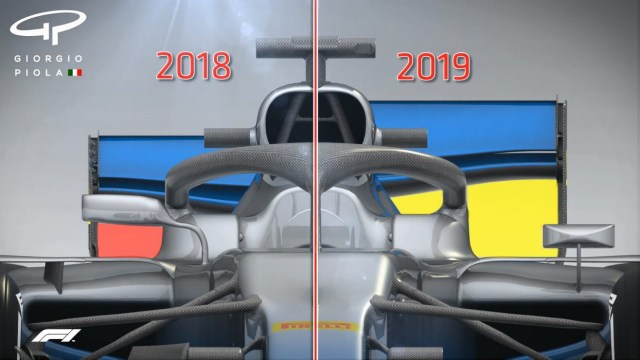 The 2019 F1 introduces new regulations for 2019
