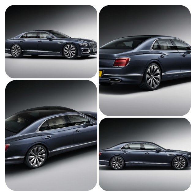 ALL-NEW BENTLEY FLYING SPUR – SPORTS SEDAN MEETS LUXURY LIMOUSINE