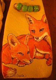 Red Foxes - small - Kyla Allen