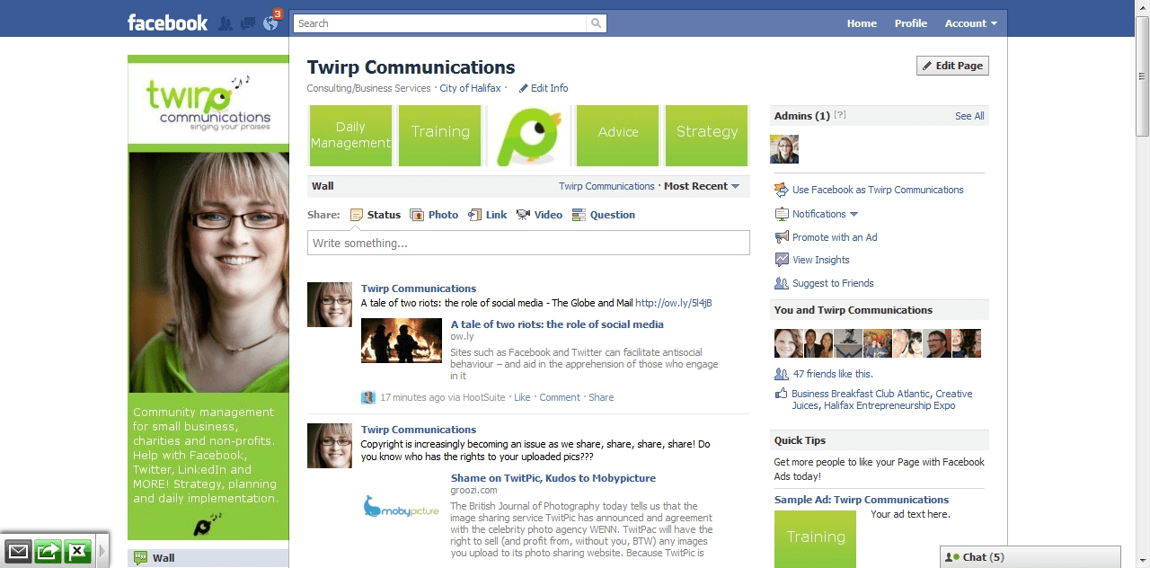 Facebook Business Page Templates. facebook page templates for ...