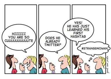 Hashtag Cartoon by Geek and Poke