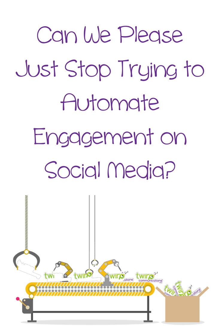 Automating your Instagram comments may seem like a great shortcut to save you time, but I guarantee it will hurt your brand more than it's worth.