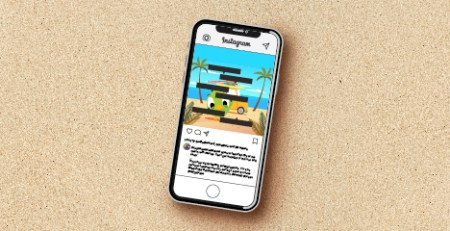 Instagram Photo Tags graphic